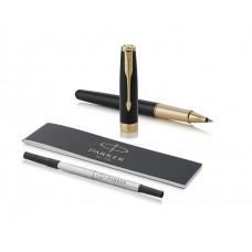 Rollerball Pen Parker Sonnet Premium F G.T Sort lak