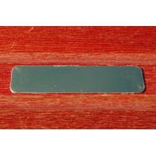 Skilt EGP2-Guld - 64mm. x 16mm. med klæb.