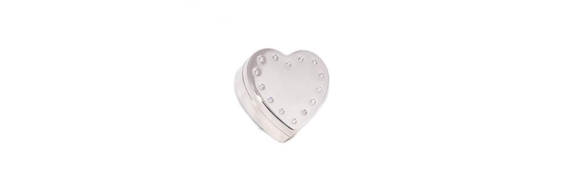 Smykkeæske Hjerte