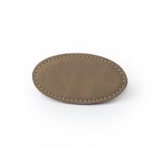 Reversskilt kunstskind oval 44,45mm x 82,55mm hjort med magnet